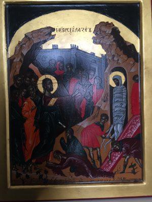 Icone Sacre - Resurrezione di Lazzaro